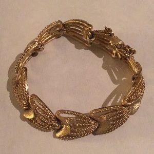 Monet gold tone bracelet